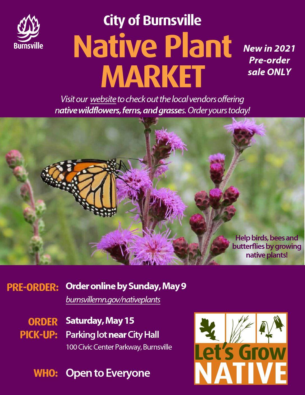 Burnsville Native Plant Market Pre-order